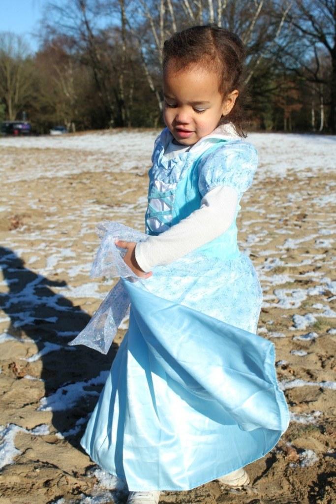 Frozen jurk voor peuters