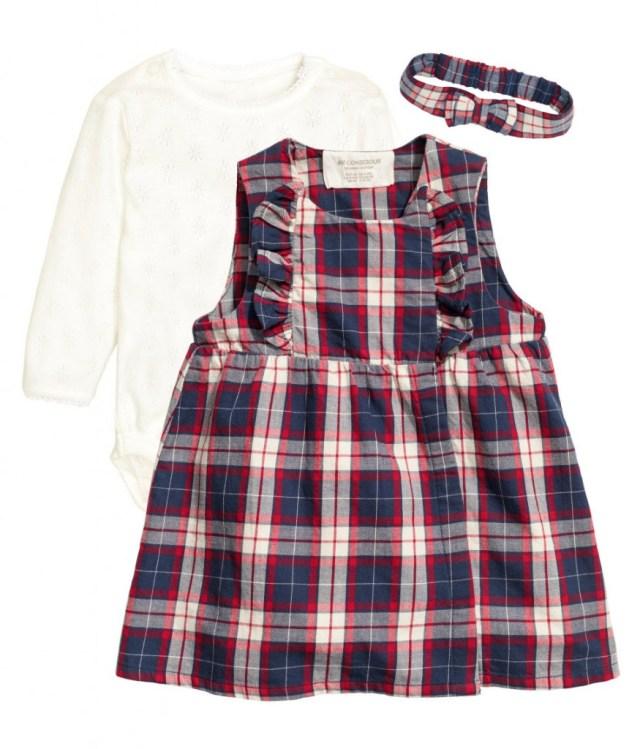 GoodGirlsCompany kerstjurkjes-party collectie HM-feestkleding voor babys