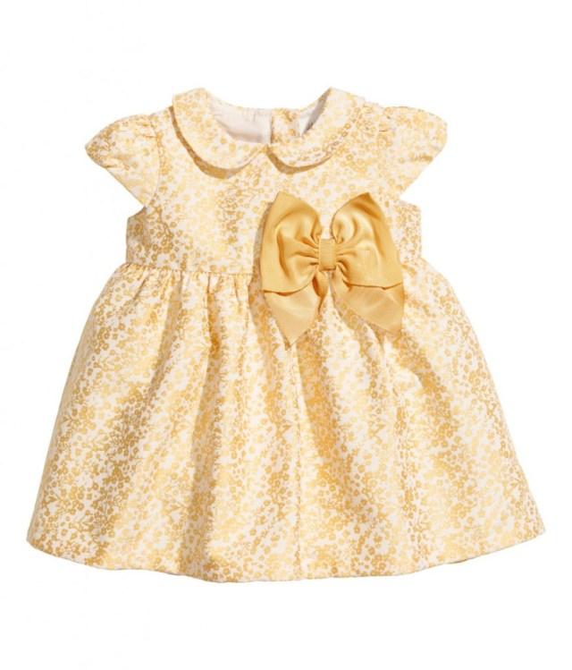 gouden kerstjurkje-jurkjes voor babys-GoodGirlsCompany-roze jurkje voor babys