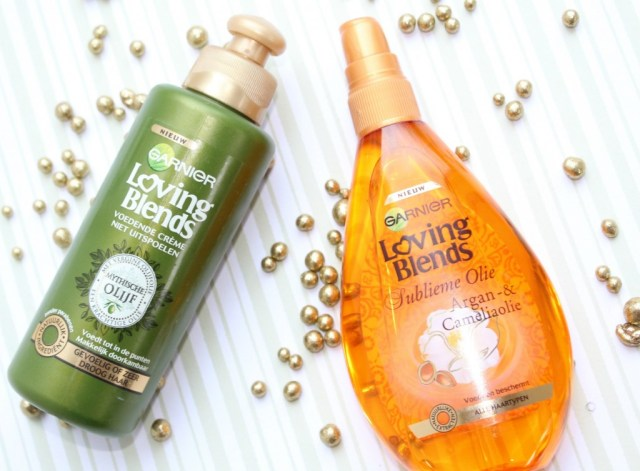 Garnier Loving Blends- Arganolie en olijf-beauty shoplog-GoodGirlsCompany