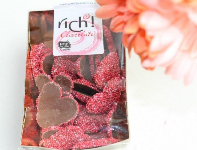 Valentijns Swap-GoodGirlsCompany-cadeautjes voor Valentijn-unboxing- chocolade hartjes
