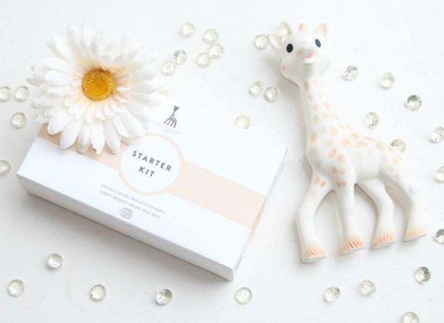 travelsize natuurlijke verzorgingsproducten-alternatieven voor Zwitsal- Sofie de giraf