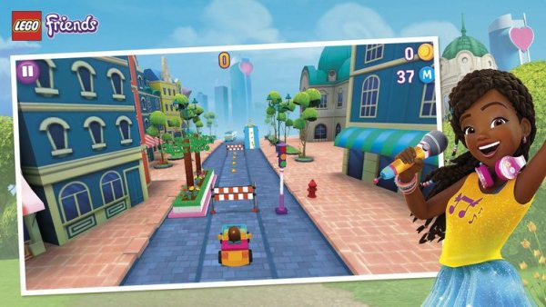 Lego Friends Heartlake rush game