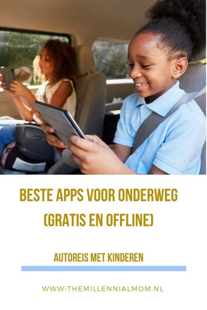 beste offline apps voor onderweg met kinderen