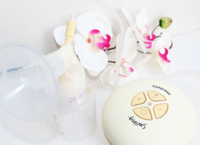 enkelzijdig kolven met Medela Swing-handige babyspullen-GoodGirlsCompany-Ervaringen Medela Swing