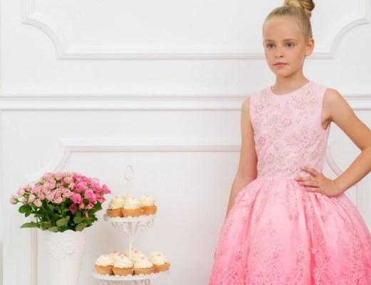 kanten feestjurk meisje-feestjurk voor meisjes-bruidsmeisje jurkje-GoodGirlsCompany