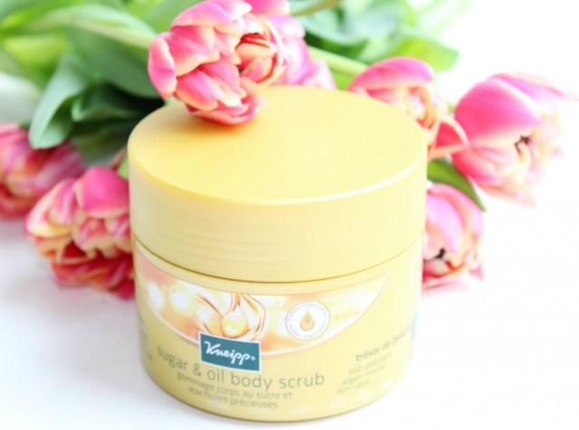 Producten voor een Afrikaanse huid-Kneipp sugar oil body scrub-GoodGirlsCompany