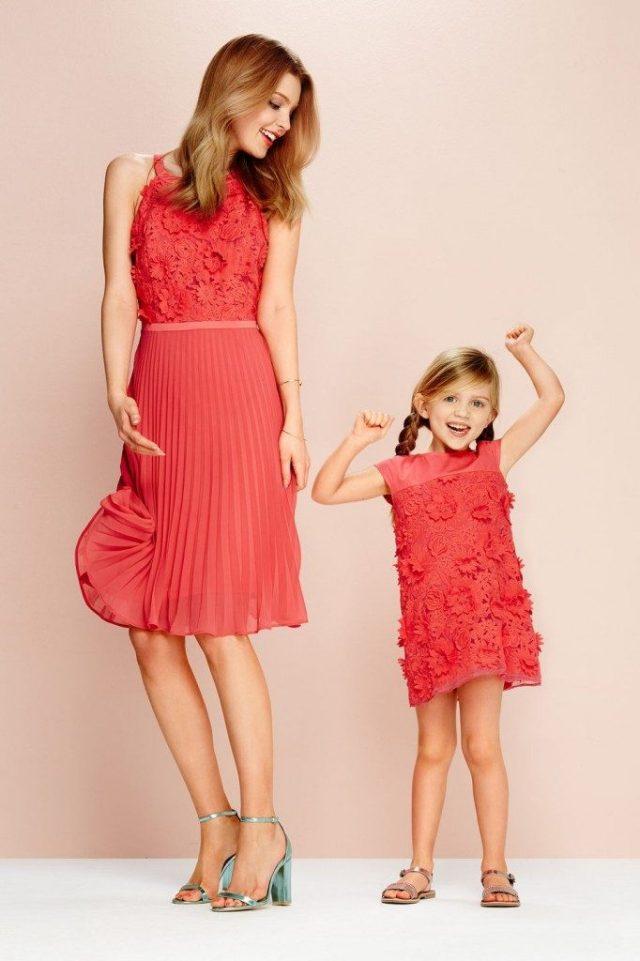 Steps-moeder dochter jurken-twinning