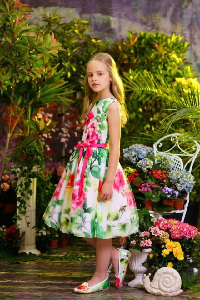 jurk met groene bloemen-GoodGirlsCompany-bloemenjurk