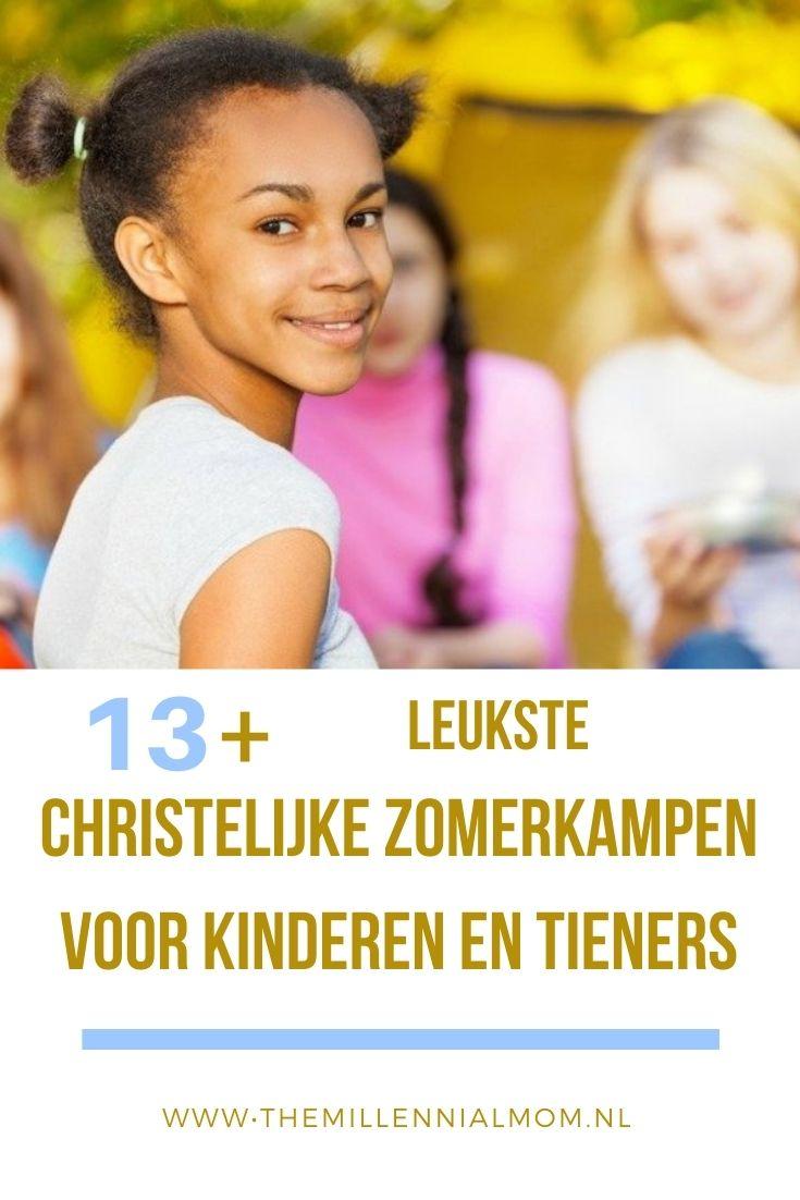 christelijke zomerkampen voor kinderen en tieners overzicht