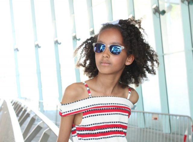 jurkje Primark-rood wit en blauw-GoodGirlsCompany