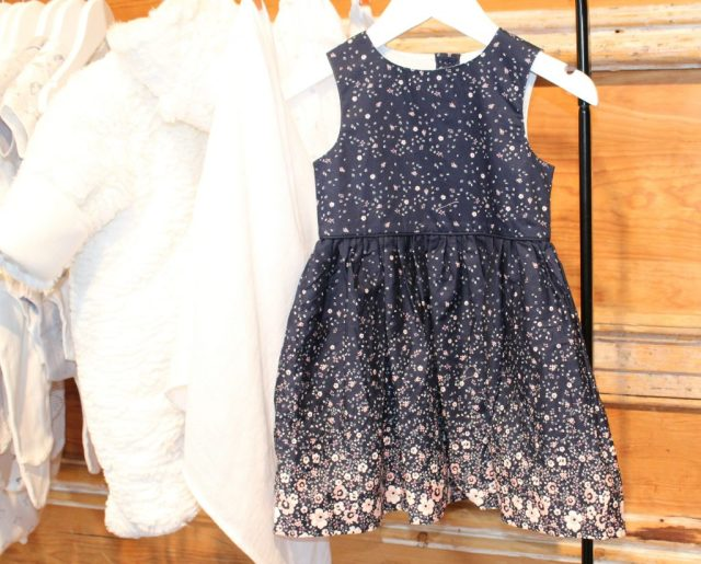 Primark kinderkleding winter 2016-GoodGirlsCompany-blauw jurkje