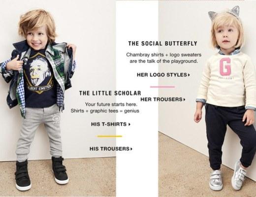 Gap social butterfly_seksisme in reclame
