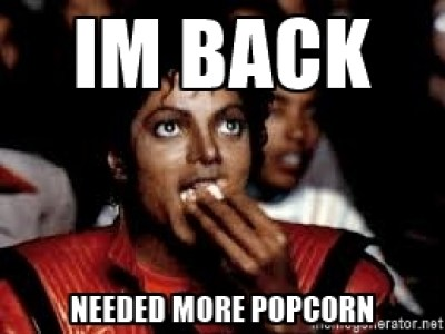 Michael Jacskon-Popcorn