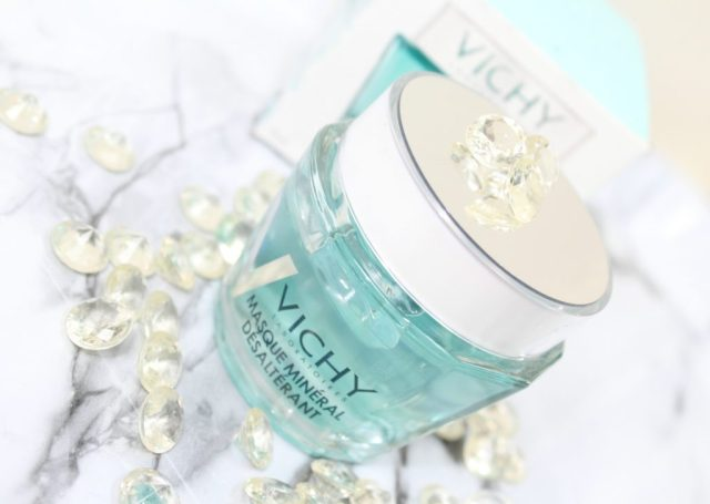 Vichy mineraal maskers_GoodGirlsCompany_Vichy Vochtinbrengend Mineraal Mask