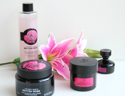 12 Days of Christmas Winactie -The Body shop British Rose-GoodGurlsCompany