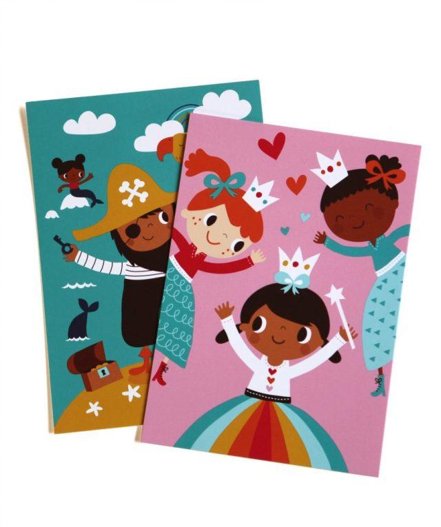 Multiculturele-kaarten-bruin-prinsesje_GoodGirlsCompany