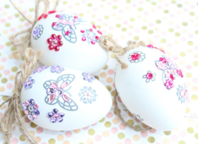 Decorating Easter eggs-Paaseieren versieren-low budget-GoodGirlsCompany