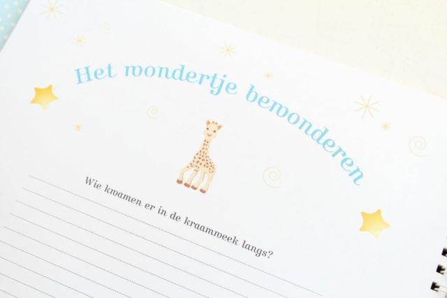 kraambezoek-Mijn-baby-album-met-Sophie-de-giraf-GoodGirlsCompany