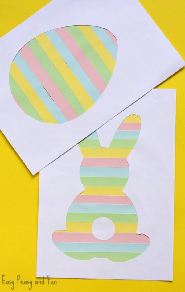 paaskaarten maken met kinderen