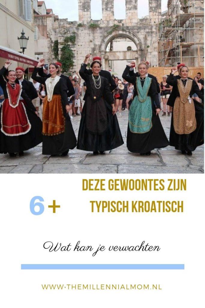 Typisch kroatie gewoontes en manieren