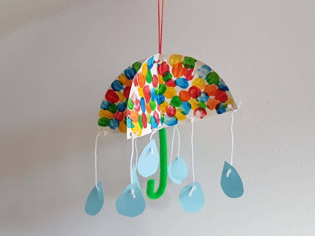 Paraplu maken Knutselen met Sien en Co knutselblog voor Good girls company