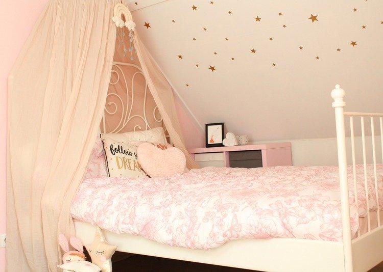 blush roze en gouden kinderkamer goodgirlscompany. Black Bedroom Furniture Sets. Home Design Ideas