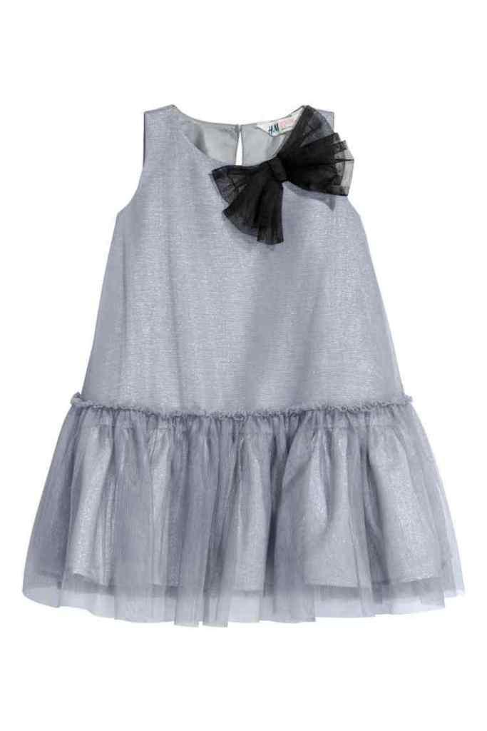jurk van tule en satijn-feestkleding-HM-GoodGirlsCompany