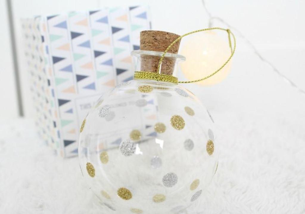 Baby's eerste kerst -Milestone keepsake ornament