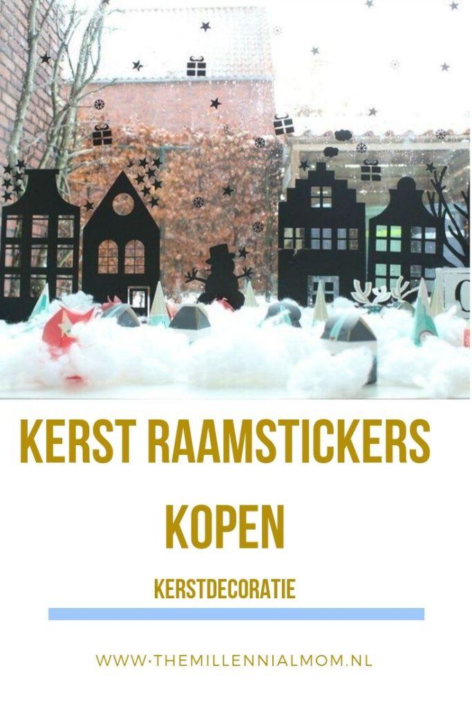 Kerstraamstickers
