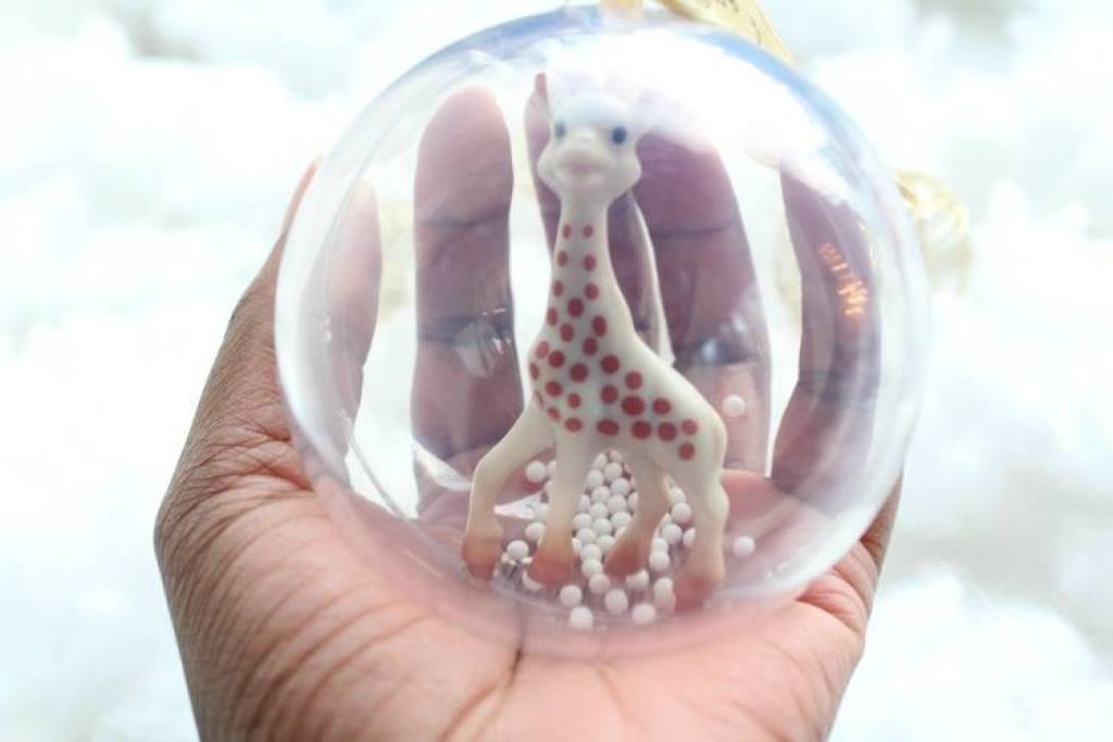 Sophie de giraf 1e kerstbal