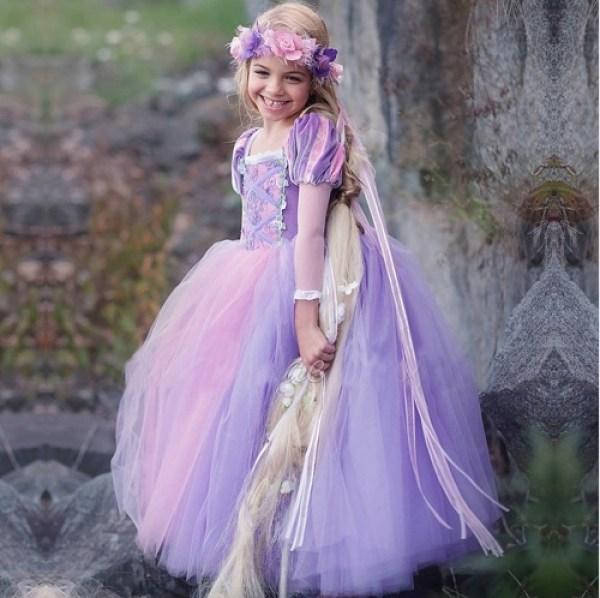 De leukste carnavalskleding van AliExpress-Rapunzel jurk