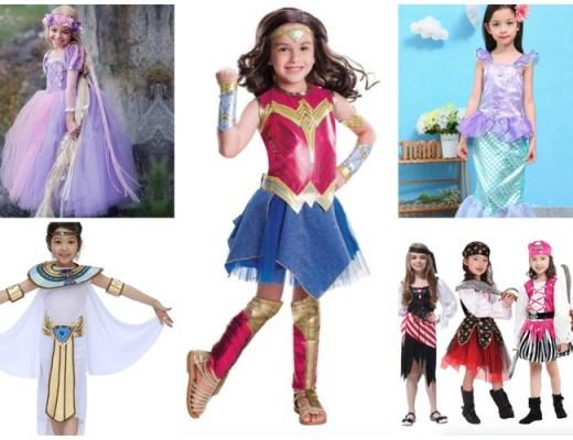 Leuke carnavalskleding van AliExpress voor Power Girls