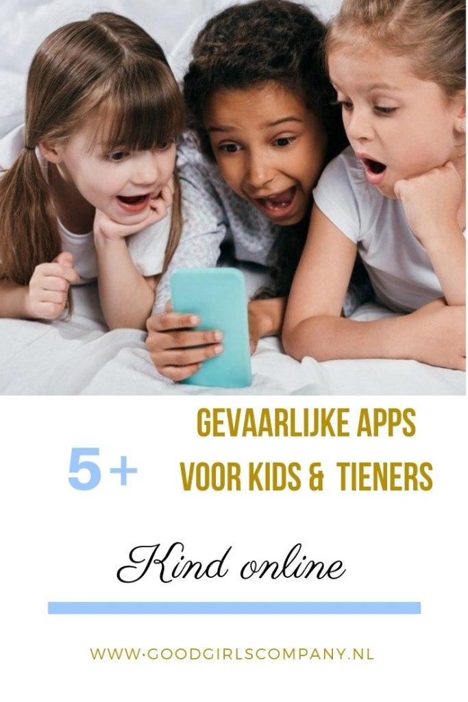 Gevaarlijke apps voor kinderen