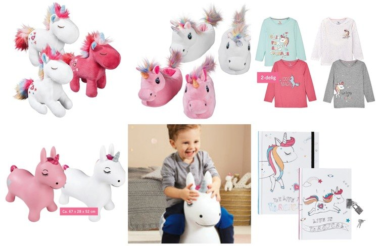 Rainbows & Unicorns | eenhoorns van Lidl