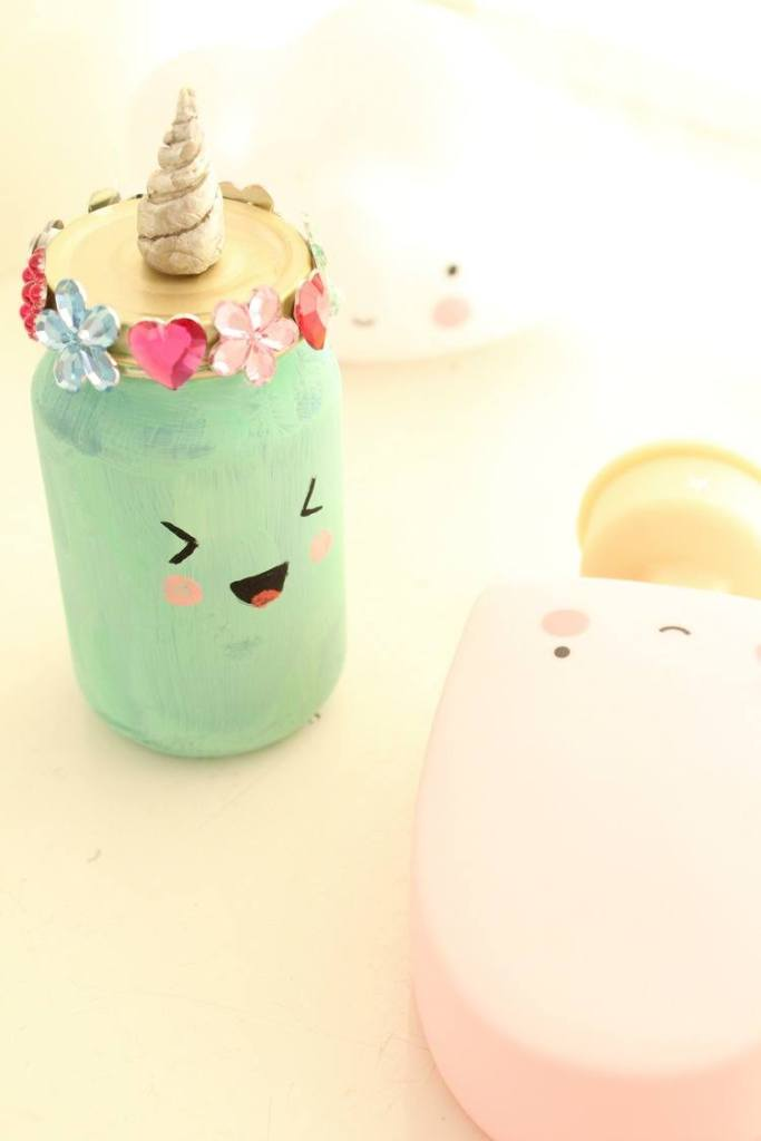 kawaii mason jars