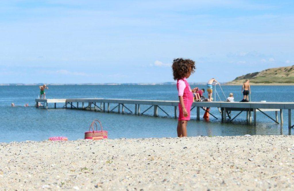 Strand Limfjord denemarken