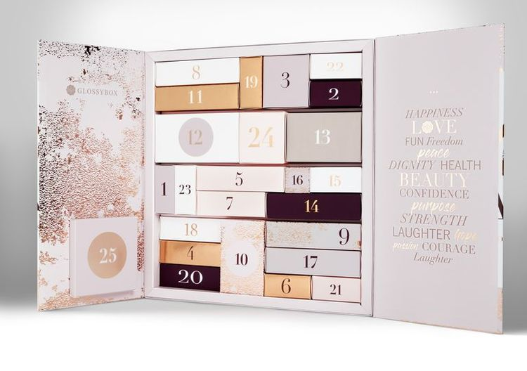 glossybox beauty adventskalender
