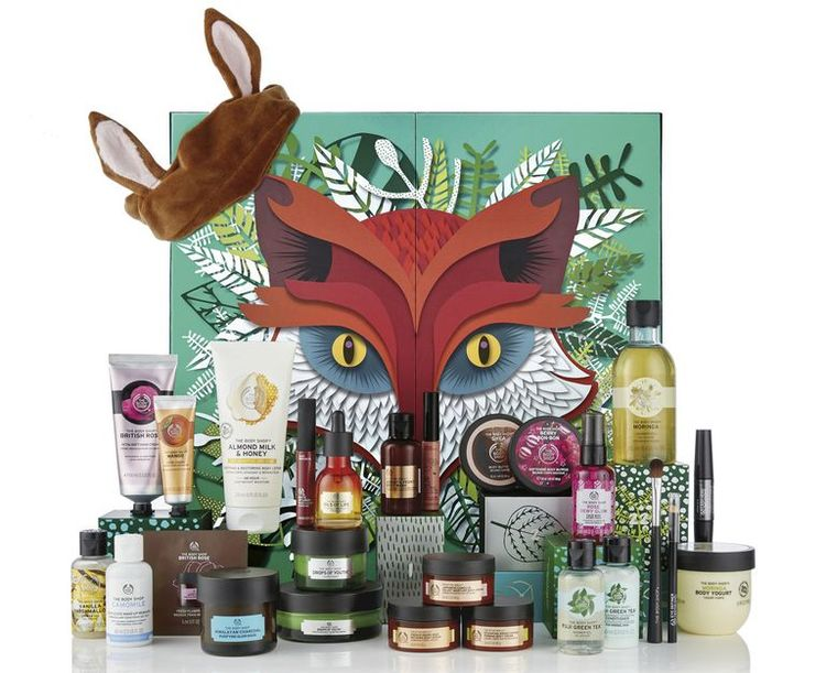 the-body-shop-beauty-advent kalendar-2018-freddie