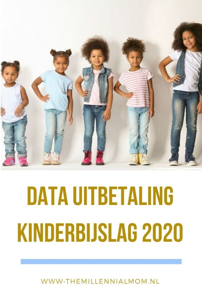 kinderbijslag 2020 data uitbetaling