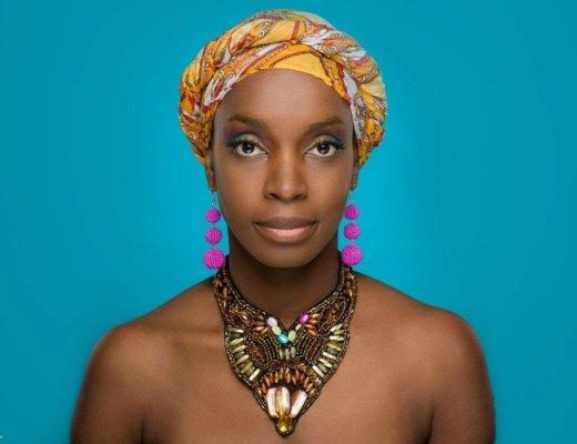Afrikaanse fotoshoot met gezin