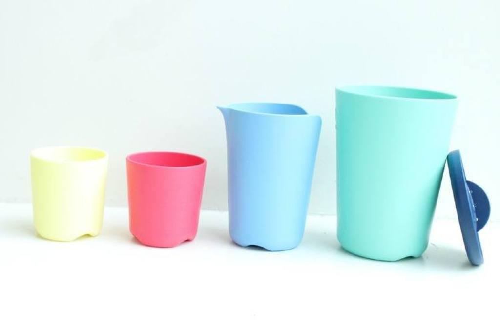 Flexi Bath Toy Cups