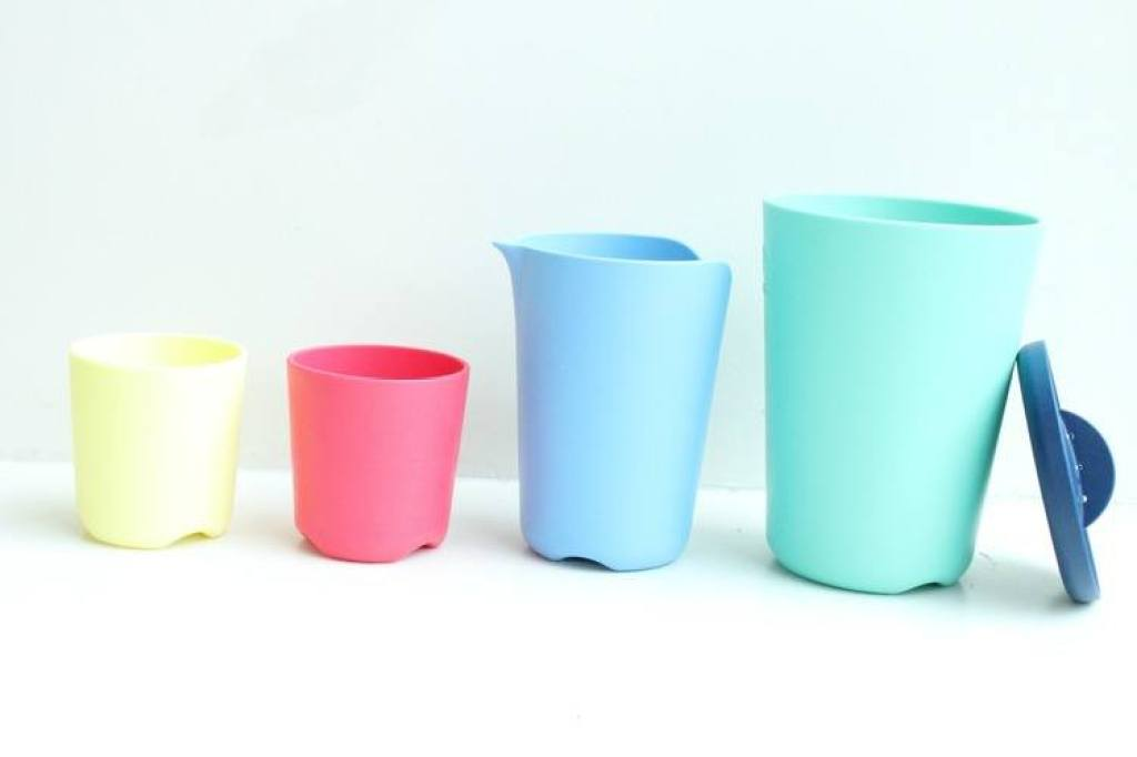 Flexi Bath Toy Cups