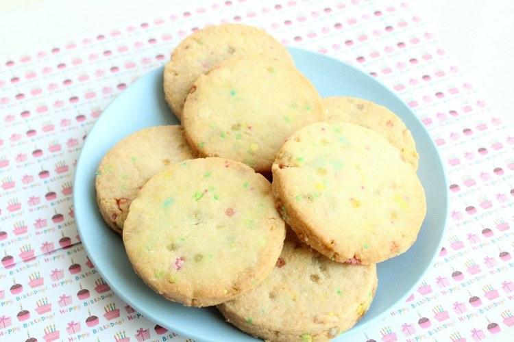 Vrolijk | Recept Funfetti cookies maken met de kinderen