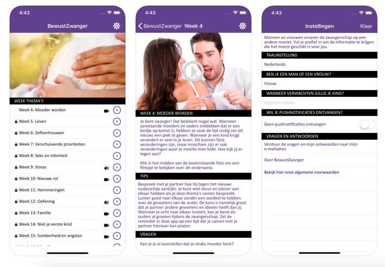 Bewust zwanger app