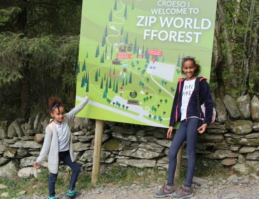 Zip World Wales bezoeken met kinderen