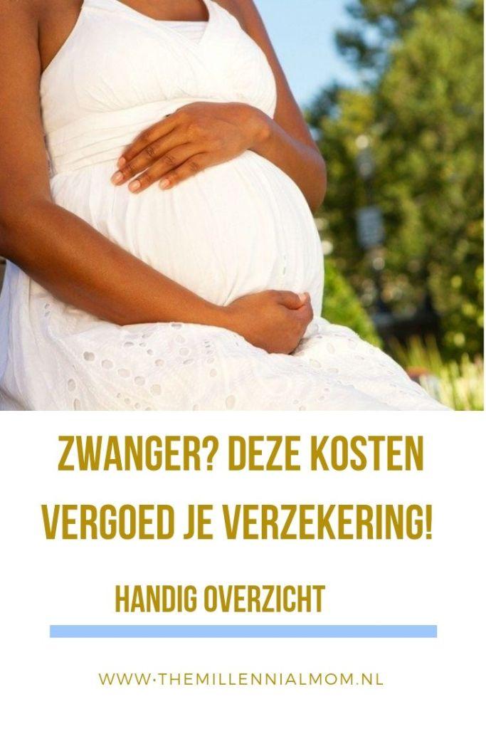 zwanger en verzekering