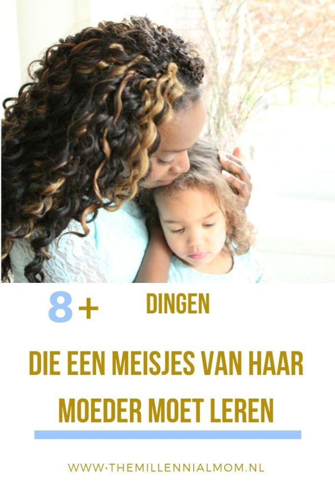 Dingen die dochters van moeders leren
