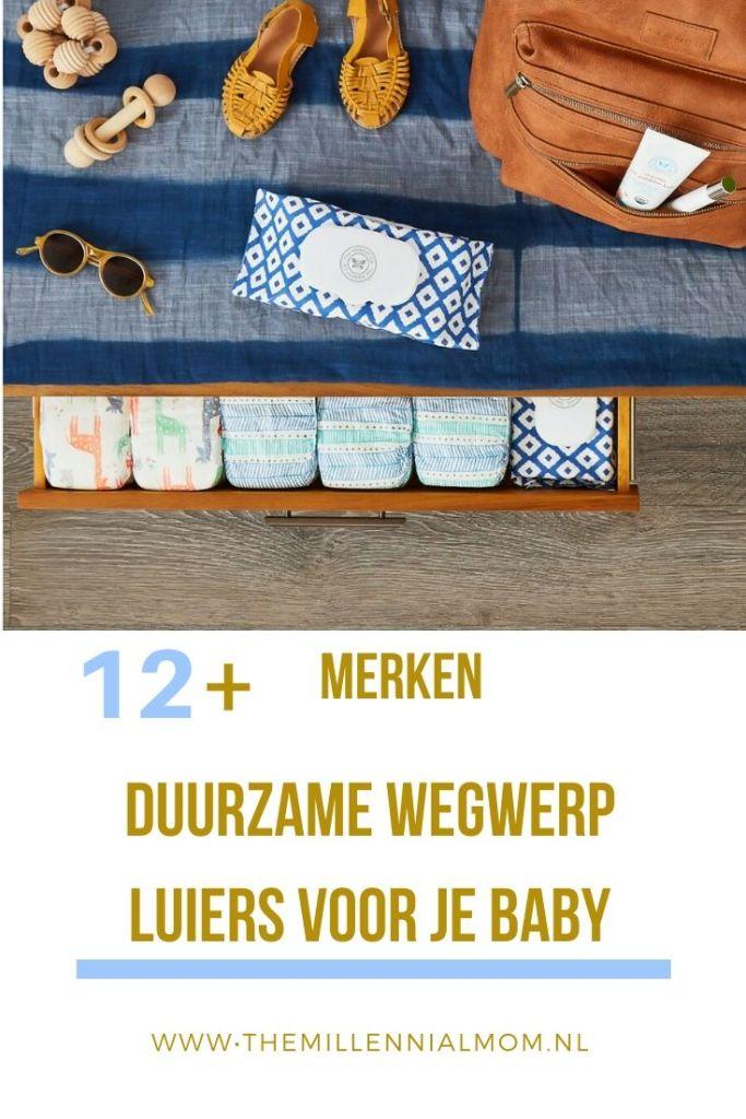 Duurzame wegwerpluiers baby