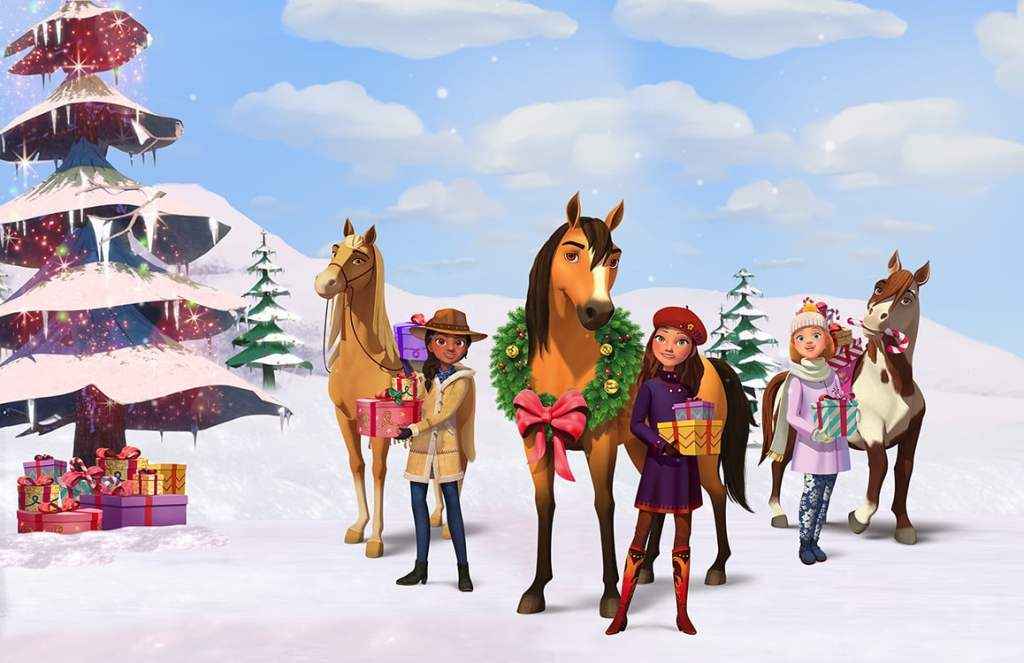 Spirit-Riding-Free-Spirit-Christmas Netflix_The Millennial Mom